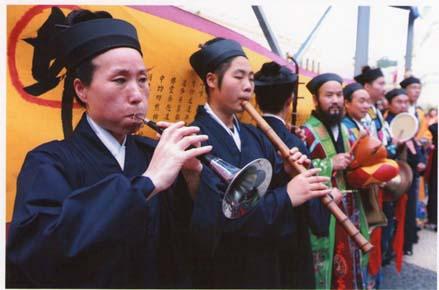 無論正一派或全真派,音樂在道教科儀中都佔重要地位。