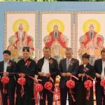行政長官何厚鏵 閣下與各主禮嘉賓主持「2009道教文化周」開幕典禮