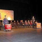 葉小文局長及張繼禹副會長主持敲罄及鳴鼓儀式