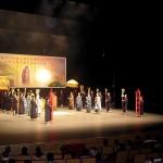 山西綿山大羅宮經樂團主演道教舞台劇--萬神朝禮慶豐年