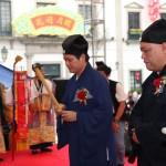 中國道教協會丁常雲副會長代表大會主持上香儀式