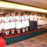 道德經中學歌唱比賽亞軍--新華學校演唱助慶