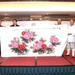 河南省道教協會向澳門道教協會致送紀念品
