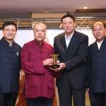 廣東民族宗教委員會向澳門道教協會致送紀念品