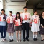 《道德經》中學生書法比賽優異作品得獎者領獎