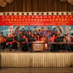 澳門道樂團在台北松山慈惠堂演奏