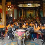 澳門道樂團在高雄道德院大殿演奏