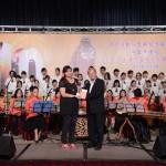 香港圓玄學院總幹事梅寶鴻道長頒獎