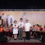 中國道教協會副會長張鳳麟道長頒獎