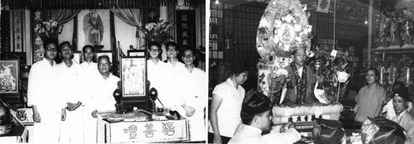 吳錦文道長當年率領港澳弟子參加香港道教聯合會的萬緣法會。