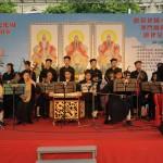 北京白雲觀經樂團演奏道教音樂