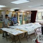 2012《道德經》中學生書法比賽進行評審情況